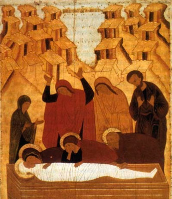 Снятие с креста. Положение во гроб