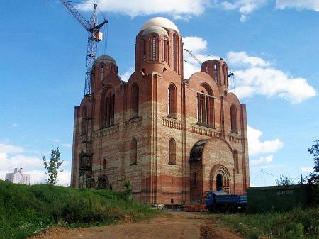 Храм в честь иконы Божьей Матери «Всех скорбящих Радость» в память жертв Чернобыля
